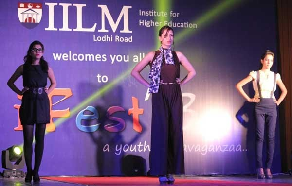 IILM iFest 2013 Corporate Walk Competition held at IILM, Delhi