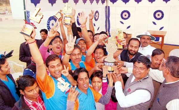 S D Eleven won the Ramawat Samaj Cricket Championship 2014