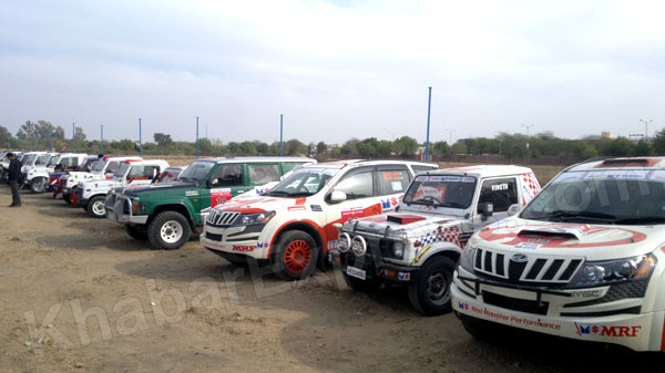 Maruti Suzuki Car Rally arrived today at Bikaner