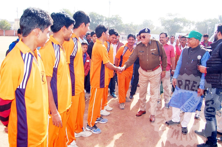 Ramawat Samaj Cricket Champion began at Railway Stadium Bikaner