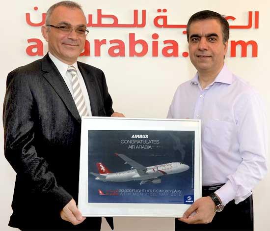 Air Arabia sets world record