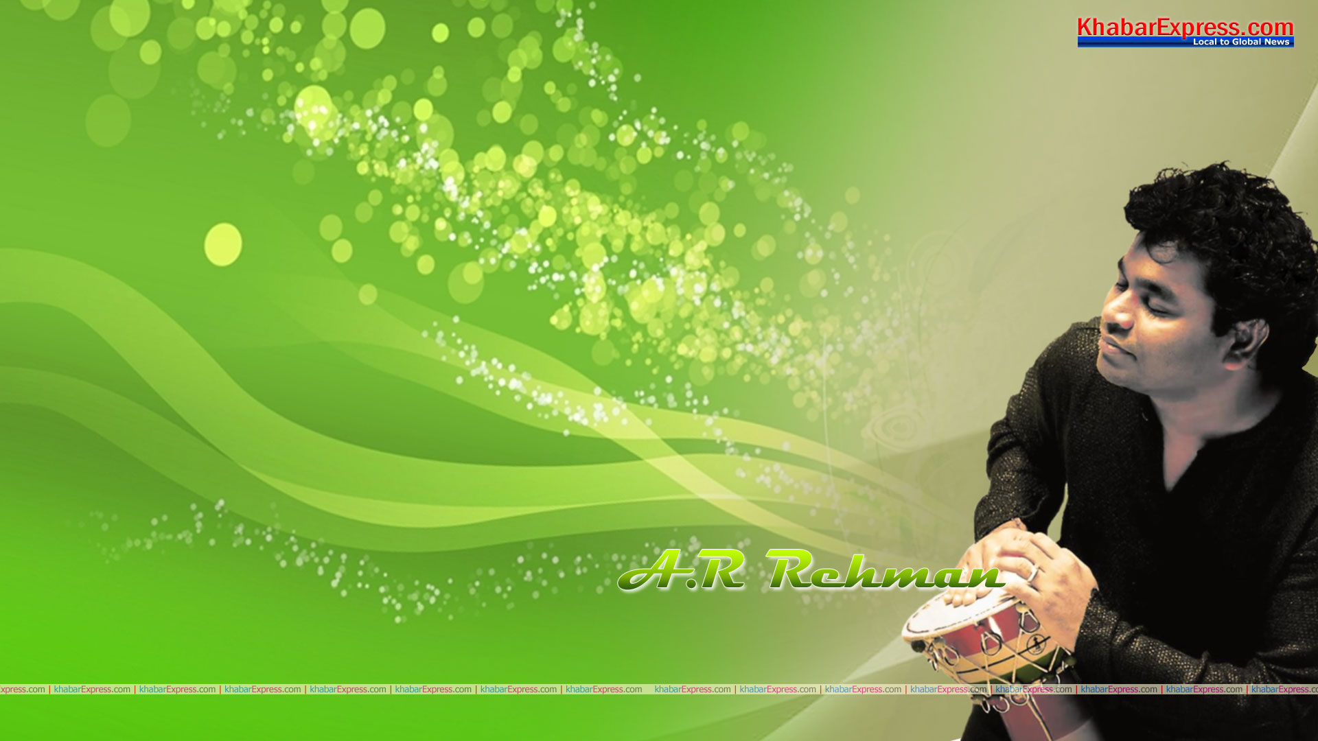 Wallpaper of Music Maestro A R Rehman