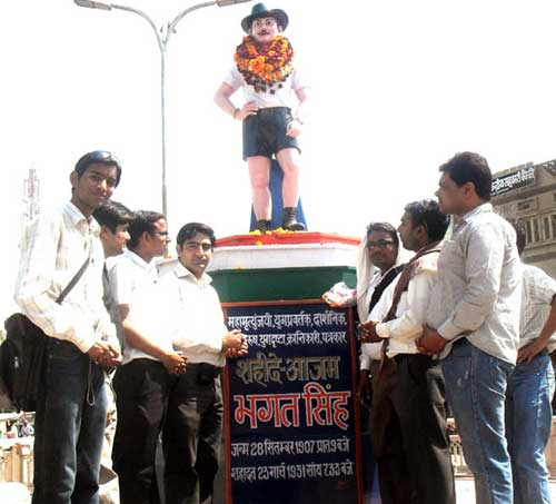 Journalists paid tribute to martyr Bhagat Singh