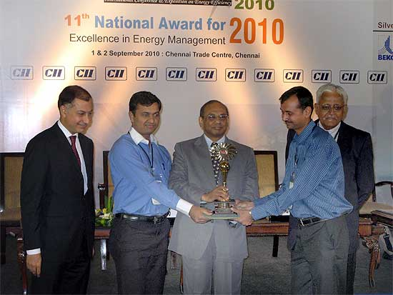 Forbes Marshall receives the CII Most Innovative Energy Saving Product Award 2010