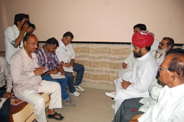 BJP leader Mahesh vyas Press Conference