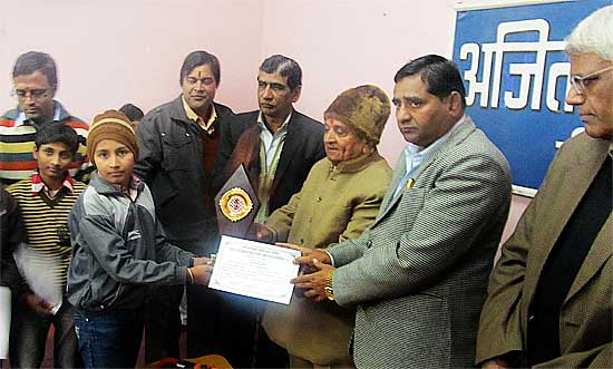 Rangeela Memorial Chess Tournaments winnners honoured