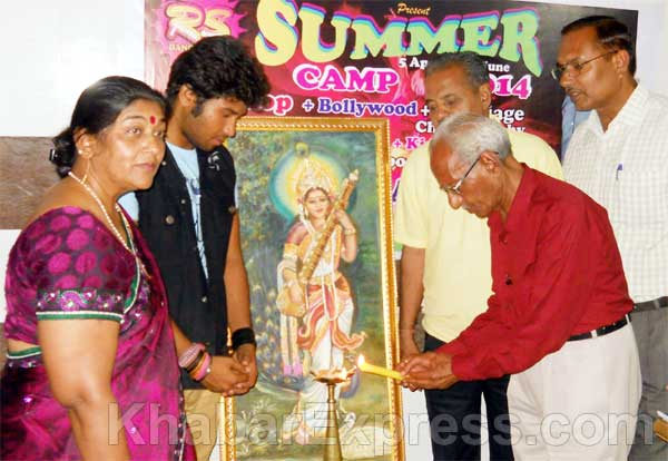 R S Dance Academy in Bikaner inaugurated Mulimanohar K Mathur