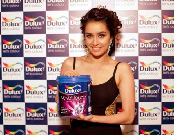 Shraddha Kapoor is now Brand Ambassador of Dulux Paint