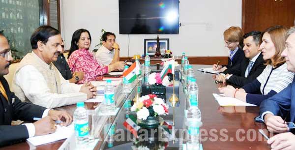 Bulgaria minister Nikolina Angelkova to met Mahesh Shrama MoU Tourism