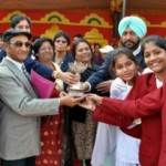 Sports Awards distribution by District Sports Officer Jasbeer Singh at Bafna School