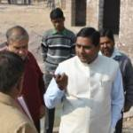 UIT Chairman Hazi  Maqsood Ahemad inspecting various developing sites