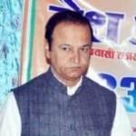 Raj State Minister Virendra Beniwal addressing in Desh Aur Vyapar Annual Function