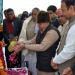 Tribute offered to Formore Loonkaransar MLA Late Bhimsen chaudhary