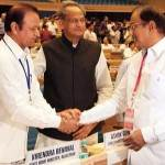 Ashokg Gehlot, Virendra Beniwal Meets P Chidambram at New Delhi