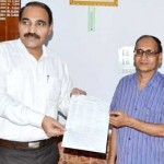 Sports Calendar 2013-14 of MGSU launched by VC Anand Kumar