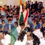 Scouts Girls and Boys Performing on 67th Independance