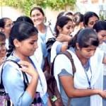 Girls Planting at NSS Camp held at Binani Girls College, Bikaner