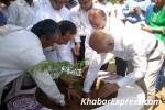 IAS Rohit R Brandon and S S Bissa Planting a Tree at Gyan Prakarti Udhyan, Jaipur