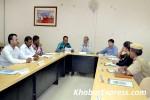 Anti Ragging Meeting held at MGSU, Bikaner