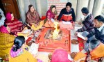 Yajya organized at Arya Samaj Bikaner on Mahashivratri
