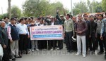 Bikaner School representatives on strike against fee, RTE rules