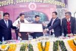 DC Subir Kumar, Khargawat presenting Bikaner History Award to GSL Devra