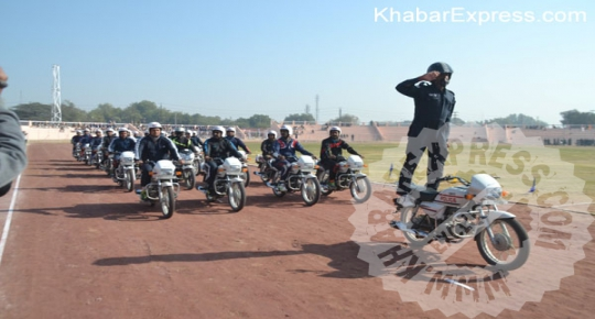 Republic Day 2016 Celebration Exercise at Karni Singh Stadium at Bikaner