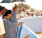 CM Vashundhara Nahar Yatra Day 2 at Hanumaangarh