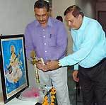 Gehlot, Ojha College lighting the lamp of Chemistry Science Devices and Analytic Technique seminar