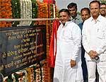 Bhimsen Chaudhary Memorial Park Inaugurates by Sharma and Beniwal