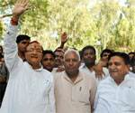 Dr B D Kalla reached bikaner, honored with grand welcome on first arrived after to home city