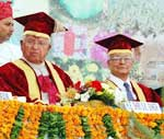 9th convocation programme of Agriculture University, Bikaner