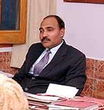 Bikane DC Anand Gupta took meeting regarding Swine Flu in Bikaner