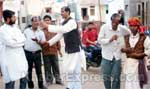 During Voter Encouragement program a Street Play perform by artist at Bikaner