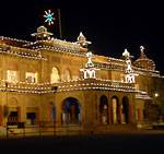 Lighted up Bikaner Collectorate on Republic Day