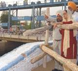 CM Vashundhara visiting IGNP Canal