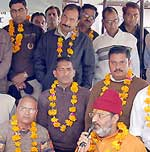 Religious leader Rameshwaranand supported demand of High court bench in Bikaner