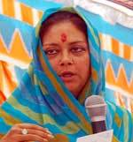 CM Raje Addressing in condolence meeting
