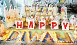 Muslim girls presents communal harmony by presenting dipawali wishes in a very special way