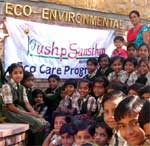 Eco Care Trip organised by Pushp Sansthan at Kulish Van, Jaipur. A Eco Care poster is also released