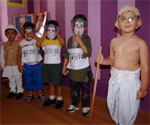 Gandhi Jayanti celebrated at We Kids, Play School, Bikaner