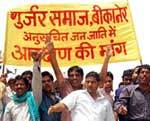 Gurjar Protest in Bikaner