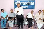 Bhawani Shankar Vyas addressing in a Youth Development programme at Ajit Foundation