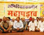 After days of agitation, IGNP Karmchari Sanyukt Sangharsh Samiti moved to grand campaigning