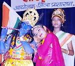India celebrates 62th Independence Day eve at Town Hall, Bikaner