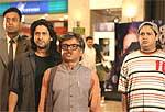 Irfan Khan, Arshad Warsi, Rajpal Yadav and Suresh Menon
