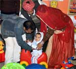 Little Children Public School opens play group branch, Corporator Guddi Devi inaugurates