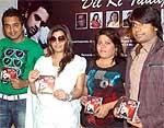 Raj Chqudhary, Mamta Sharma, Rekha Rao and Dron launching Music Album Til Ki Tadap