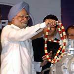 PM Manmohan Singh dedicates Mangla Oil feed to the Nation