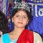 Rekha Acharya crowned Miss Binani 2010, event held at Binani Girls College, Bikaner
